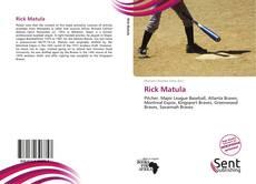 Copertina di Rick Matula
