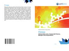 Bookcover of Firmex