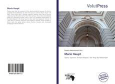 Capa do livro de Marie Haupt