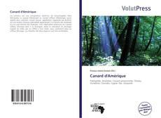 Buchcover von Canard d'Amérique
