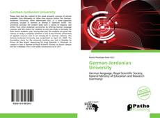Capa do livro de German-Jordanian University