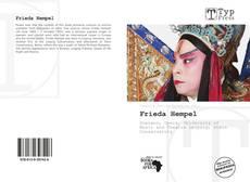 Buchcover von Frieda Hempel
