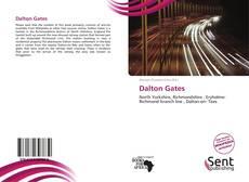 Capa do livro de Dalton Gates