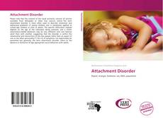 Copertina di Attachment Disorder