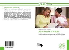Portada del libro de Attachment in Adults