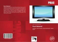 Portada del libro de Paul Boland