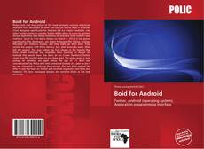 Portada del libro de Boid for Android