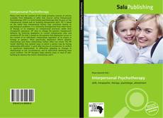 Bookcover of Interpersonal Psychotherapy