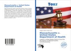 Massachusetts v. United States Department of Health kitap kapağı