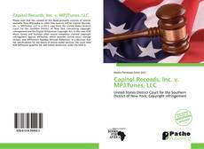 Copertina di Capitol Records, Inc. v. MP3Tunes, LLC