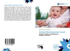 Portada del libro de Actual Development Level