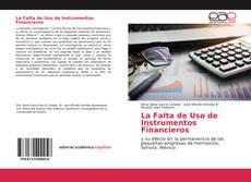 Couverture de La Falta de Uso de Instrumentos Financieros