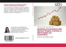 Capa do livro de Análisis Financiero del Sector Papel, Cartón y Derivados en Colombia