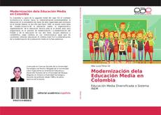 Capa do livro de Modernización dela Educación Media en Colombia