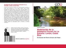 Portada del libro de Modelación de la Dinámica Fluvial río La Estrella. Limón, Costa Rica