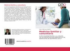 Buchcover von Medicina familiar y comunitaria