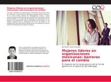 Bookcover of Mujeres líderes en organizaciones mexicanas: barreras para el cambio