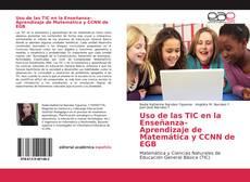 Portada del libro de Uso de las TIC en la Enseñanza–Aprendizaje de Matemática y CCNN de EGB