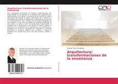 Portada del libro de Arquitectura: transformaciones de la enseñanza