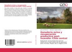 Capa do livro de Ganadería ovina y recuperación productiva post-incendio: Chile central