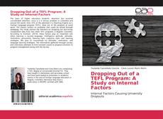 Couverture de Dropping Out of a TEFL Program: A Study on Internal Factors