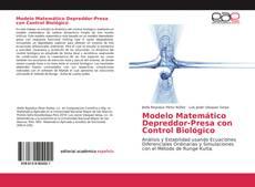 Portada del libro de Modelo Matemático Depreddor-Presa con Control Biológico