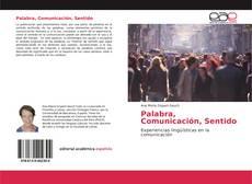 Bookcover of Palabra, Comunicación, Sentido