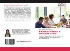 Portada del libro de Emprendimiento e Inclusión Social