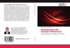 Borítókép a  Metodología del trabajo intelectual - hoz