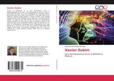 Обложка Xavier Zubiri: