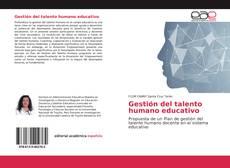 Capa do livro de Gestión del talento humano educativo