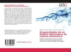 Singularidades de un Modelo Matemático de Cadena Alimenticia kitap kapağı