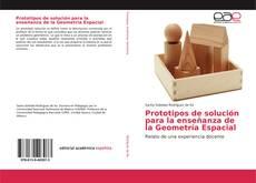 Portada del libro de Prototipos de solución para la enseñanza de la Geometría Espacial