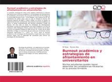 Bookcover of Burnout académico y estrategias de afrontamiento en universitarios