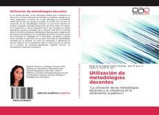 Capa do livro de Utilización de metodologías docentes