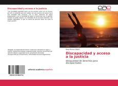 Portada del libro de Discapacidad y acceso a la justicia