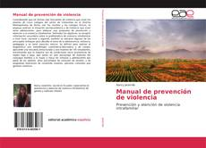 Обложка Manual de prevención de violencia