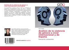 Bookcover of Análisis de la violencia de género a nivel internacional y de España