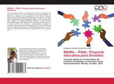 Portada del libro de BAXAL – PAAL. Proyecto educativo para S/sordos.