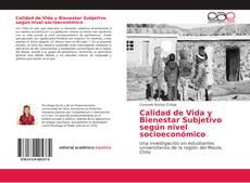 Portada del libro de Calidad de Vida y Bienestar Subjetivo según nivel socioeconómico