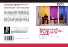 Capa do livro de Competencias de docentes normalistas en sus prácticas efectivas