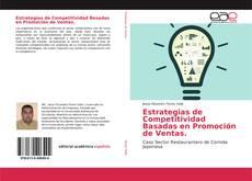 Bookcover of Estrategias de Competitividad Basadas en Promoción de Ventas.