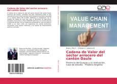 Bookcover of Cadena de Valor del sector arrocero del cantón Daule