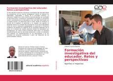 Обложка Formación investigativa del educador. Retos y perspectivas