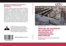 Capa do livro de Método de equilibrio de cortantes y momentos en cimentaciones MECYMCAC