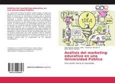 Bookcover of Análisis del marketing educativo en una Universidad Pública