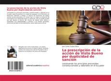 Portada del libro de La prescripción de la acción de Visto Bueno por duplicidad de sanción