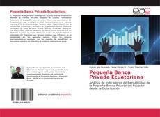 Buchcover von Pequeña Banca Privada Ecuatoriana