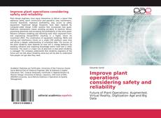 Improve plant operations considering safety and reliability kitap kapağı