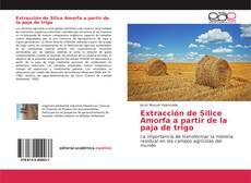 Portada del libro de Extracción de Silice Amorfa a partir de la paja de trigo